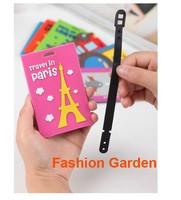 Hot Selling Cute Cartoon design Soft PVC Luggage Tag Travel Tag Bag Tagl Total 7 design Minimum 1piece per design Bus Card Tag