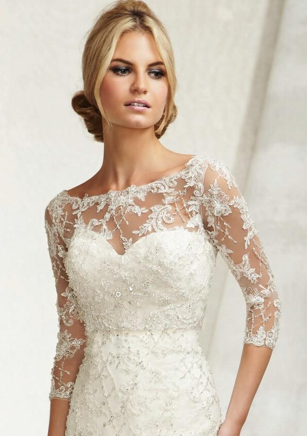 Болеро для свадебного платья