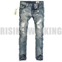 Мужские джинсы retail 2013 New hot sale Men's brand leisure fashion High quality fabrics Hole blue pants Jeans 70