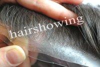 Customized Super thin skin men's toupee