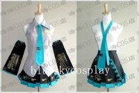 Женский маскарадный костюм Blue sky cosplay Hatsune Miku , + +