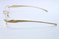 Оправы очки 5102336 пантера серии ограничено оригинальные очки оправы металлические оправы