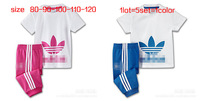 Kids 2pcs outfits Boys & Girls Tshirt + pants 2pcs set size 80 90 100 110 120CM