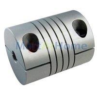 Муфта для соединения валов 10pcs/lot Drive Shaft Coupler 5*6.35mm Diameter 20mm Length 25mm #SM096