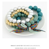 Браслет из бусин The Fashion ocean style beads bowknot beads handmade bracelet