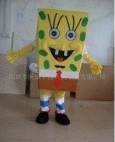 Мужской маскарадный костюм 2010 Newest Lovely Christmas Classical Version SpongeBob SquarePants Mascot Costume