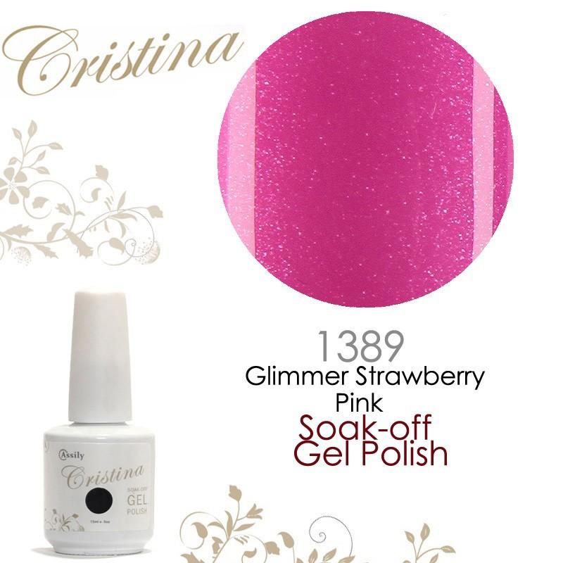 1389 Glimmer Strawberry Pink
