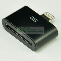 Кабель для мобильных телефонов 8 Pin Lightning to 30 Pin Adapter Connector for iPhone 5 5G iPhone5 Black
