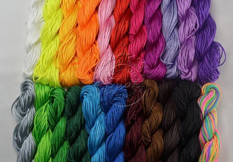 Капроновые шнуры для вязания
