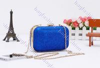 женщин в обед ретро жесткий блеск плечо цепи сумка сумочка 3 цвета 14226 z