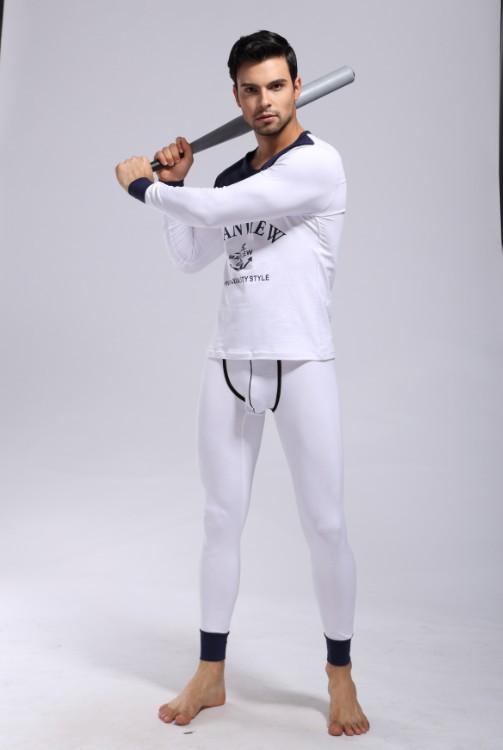 Wholesale-mens Pajamas Underwear Sleepwear Cotton/modal Pants Robe ...