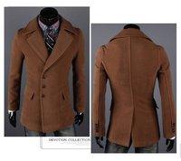 Мужские изделия из кожи и замши men's windbreaker outwear wollen coat sweat overcoat men's hoodies warm winter new year gift 2013 new