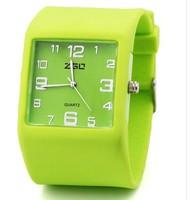 Наручные часы Fashion Silicone Jelly Watch Wrist watch multi-colors