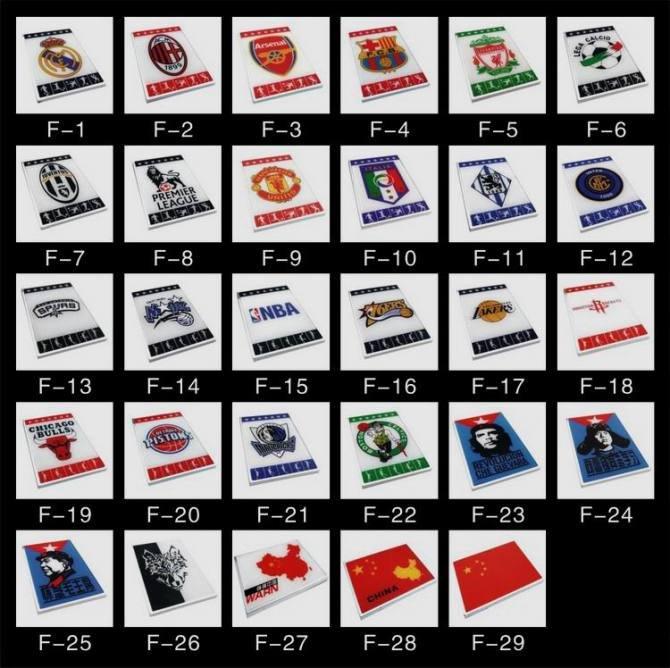 rare car logos sh