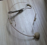 Микрофон Light Weigh! Super Headset Microphone Invisible 3.5mm for AKER flesh color music player