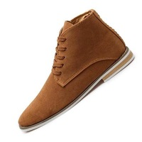 Мужские ботинки 2013 USA Designer New British Mens Casual Lace up Suede Ankle Boots Fashion Loafers Sneakers For mens Z276