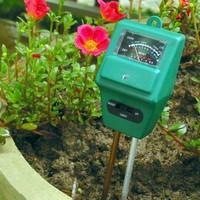 Инструменты измерения и Анализа 3in1 Moisture PH Light Meter for Hydroponic Plant Soil