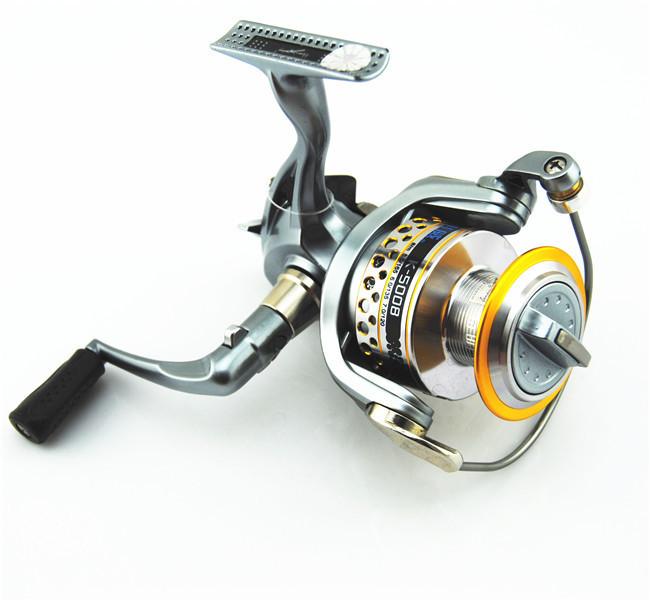 K5000 7 1 bbs fishing rod reels lure fishing open face for Open face fishing reel