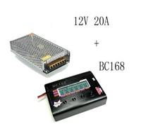 Концевой выключатель BC168 8A 200W Super Speed LCD Intellective Balance Charger+12V 20A DC Switch