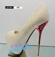 Туфли на высоком каблуке 2012 fashion Waterproof Black Sexy High Heel Shoes