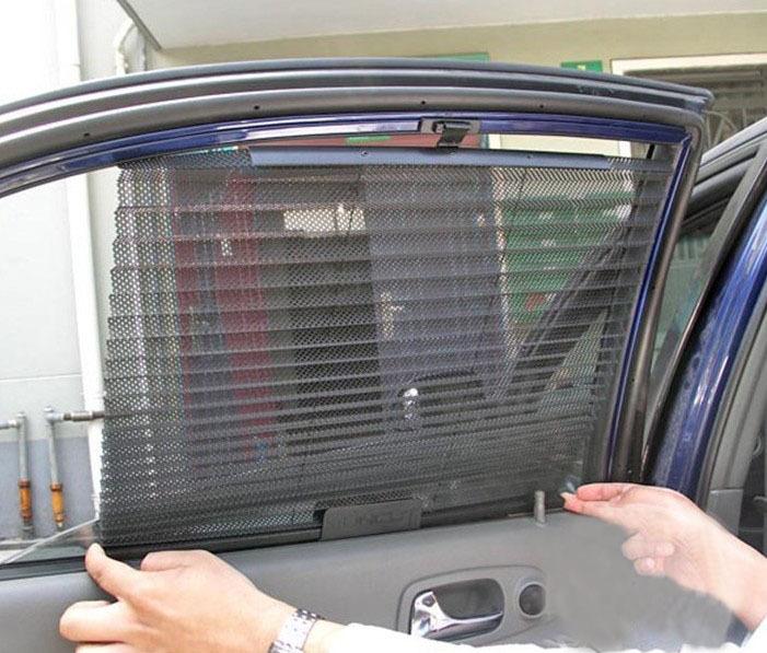 Eastsun Automatic Retractable Side Window Car Curtain Sun Shading ...
