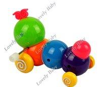 Заводная игрушка Lovely Colorful Plastic Cute Caterpillar Inchworm Twist Forward Movement Children Kids Baby Toys, Clockwork Toys 4529