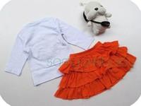 Комплект одежды для девочек 2014 new! children set100%cotton cartoon clothes Christmas deer suit grow strong suit of the girls, Christmas clothing