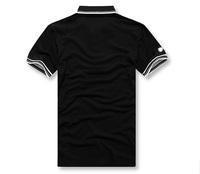 Мужская футболка New short sleeve popular men's POLO Shirt, sweatshirt, men's leisure shirt, pique polo sport t-shirt, men's casual t-shirt