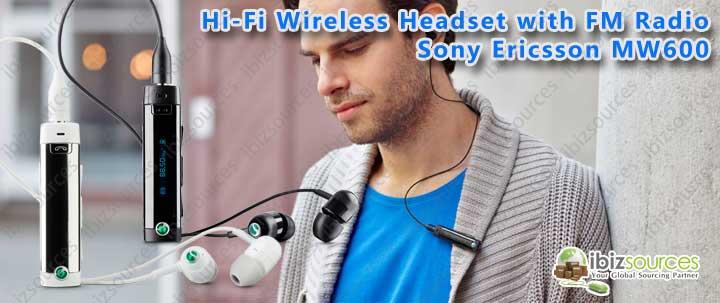 Sony ericsson mw600 привет fi bluetooth гарнитура с fm