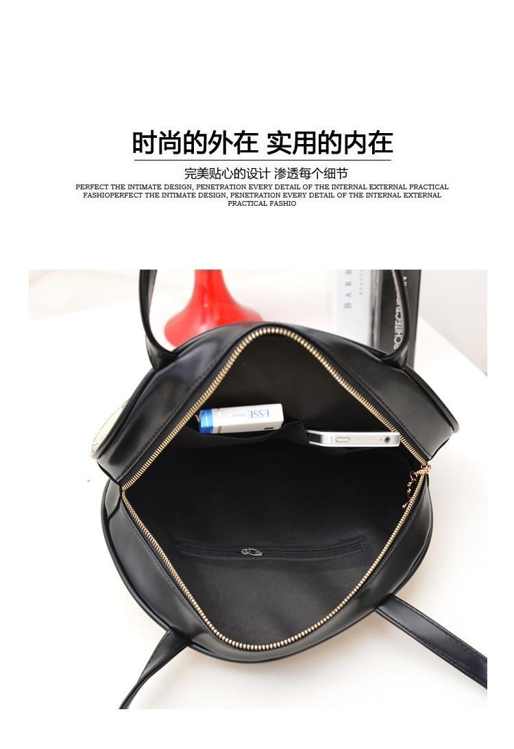 2014 Autumn New Fashion South Korea Style Vintage Print Zipper Single