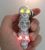 Зажигалка 10pcs/lot& lighterskeleton shape lighter Cigar Cigarette Butane Lighter, creative lighter, gas lighter
