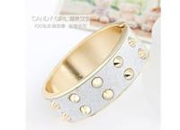 Ювелирное изделие MINI ORDER USD10 Factory direct s New fashion jewelry new design Rivet Bangles bracelets