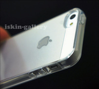Чехол для для мобильных телефонов New! Clear Ultra Thin TPU Transparent Crystal Soft Rubber case For iPhone 5