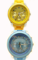 Free Shipping!!!!! Promotion good quality plastic MK style Lady watch MK logo on the watch Wholesale price