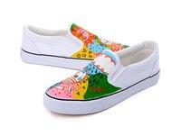 Fashion comfortable women leisure classic canvas shoes