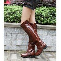 Женские ботинки winter fashion knee side with the knights boots
