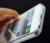 Чехол для для мобильных телефонов New! Clear Ultra Thin TPU Transparent Crystal Soft Rubber case For iPhone 5