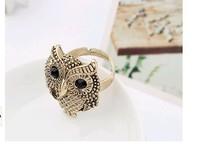 Кольцо RR64 Korean personality vintage Owl ring B2.9-5.9a