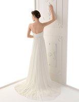 j0093 без бретелек великолепные вышитый бисером пояса шифон неофициальные свадебные платья