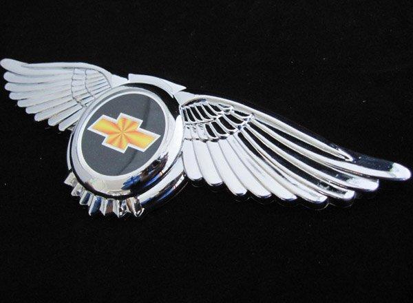 Car Emblem With Wings Emblem 3d car logo wings