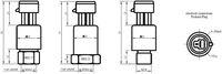 Бесшкальный манометр 4 20mA Pressure Transmitter For Compressor