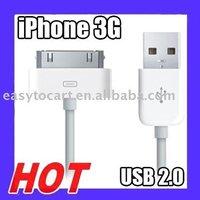 Кабель для мобильных телефонов Original Genuine USB Cable for ipod iphone 3G 3GS