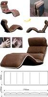 Стул с металлическим каркасом and retail Gaming Music Chair, Leisure chair, 6 mode folding chair, Shake chair, Rock chair, leisure sofa