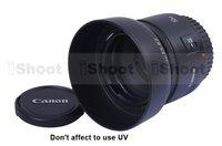 iShoot Lens Hood ES-62 for Canon EF 50/1.8 II