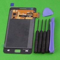 ЖК-дисплей для мобильных телефонов 100% ORIGINAL LCD Display with Touch Screen Digitizer assembly For Samsung Galaxy S 2 I9100 White + tools