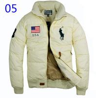 hot!! Free shipping New 2012 POLO Men's Fashion Winter down Jacket,Men's Modern Down Coat,Men Puff flanel down Wear 15 model