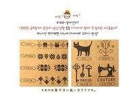 Печать 2012 new Restore ancient ways drawer style woody decorate stamp