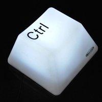 Wholesale Free Shipping New Fashion CTRL Key Press LED Keyboard Light