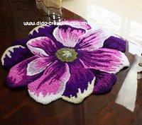 Коврик Anti-slip Acrylic Handmade Area Rug Slippers 31'*22