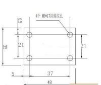 Форма Ballscrew Nut Housing Bracket Holder For 1604 1605 1610